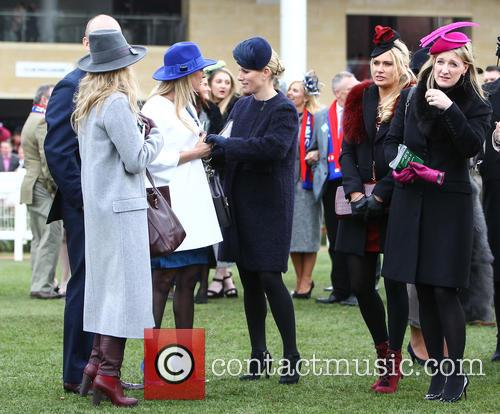 Zara Phillips, Zara Tindall, Carla Germaine and Chanelle Mccoy 4