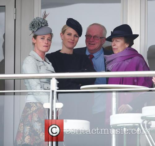 Princess Anne and Zara Phillips 1