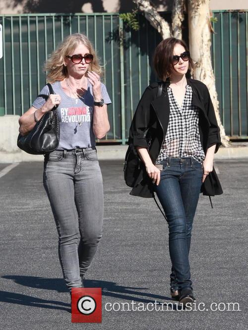 Lily Collins and Jill Tavelman 5