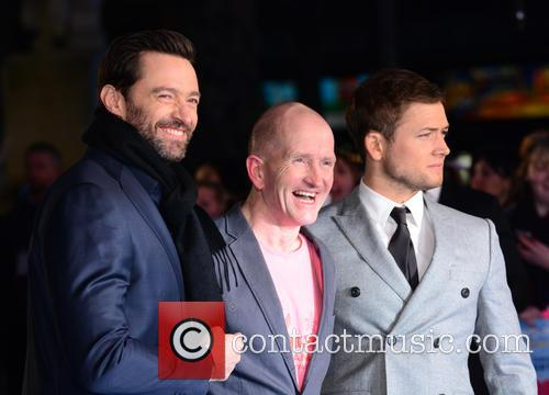 Hugh Jackman, Eddie 'the Eagle' Edwards and Taron Egerton 4