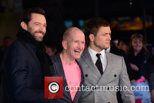 Hugh Jackman, Eddie 'the Eagle' Edwards and Taron Egerton 6