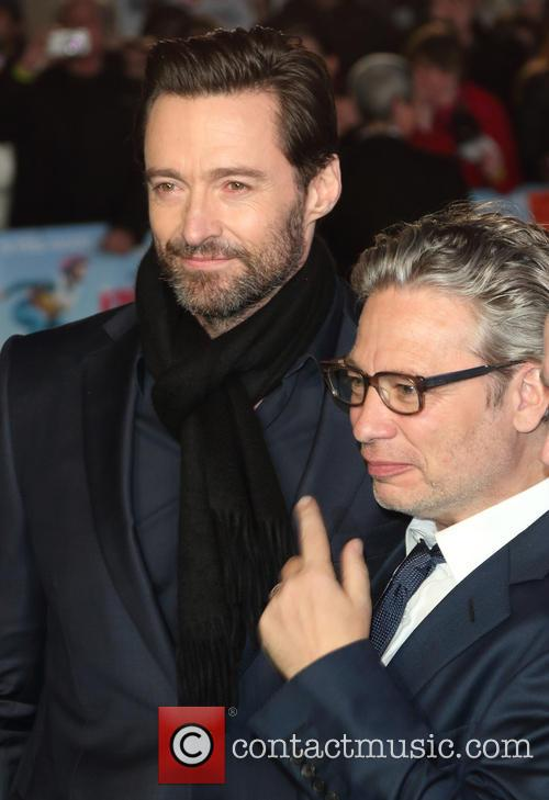Hugh Jackman and Dexter Fletcher 2
