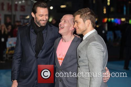 Eddie The Eagle, Hugh Jackman and Taron Egerton 2