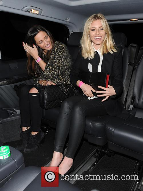 Frankie Bridge and Mollie King 1