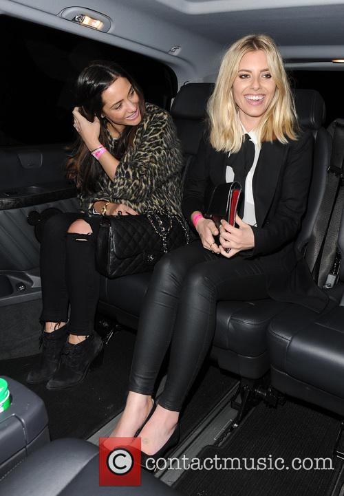 Frankie Bridge and Mollie King 2