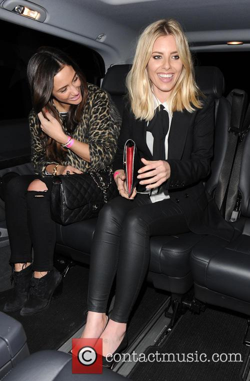 Frankie Bridge and Mollie King 4