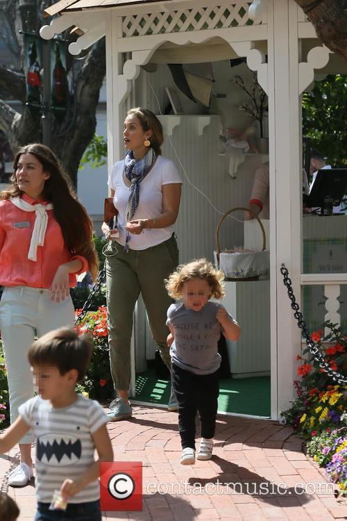 Elizabeth Berkley and Sky Cole Lauren 11