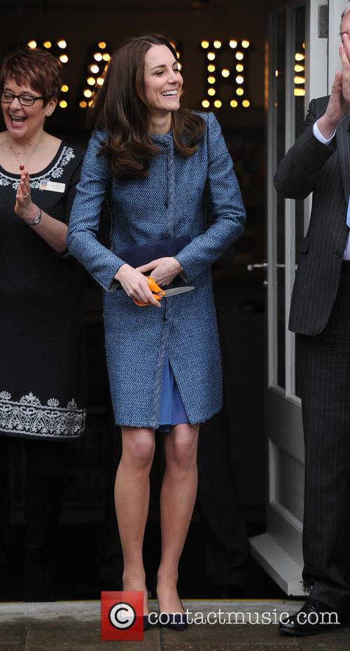 Kate Middleton opens the new East Anglia Childrens...