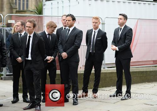 Ryan Thomas, Jack P Shepherd, Mikey North, Sam Aston, Andy Whyment and Alan Halsall 2