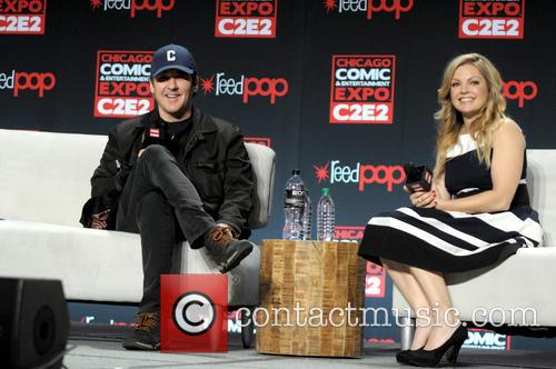 John Cusack and Clare Kramer