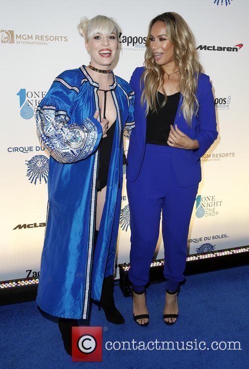 Natasha Bedingfield and Leona Lewis 2