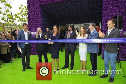George Clarke, Laurence Llewelyn-bowen, Alan Titchmarsh, Katie Piper, Gregg Wallace, Suzi Perry and Martin Lewis 2