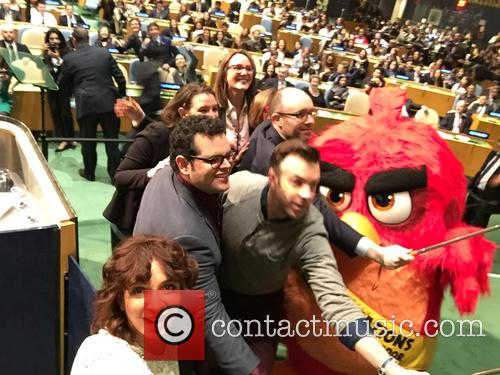 Red from Angry Birds movie named honorary ambassador...