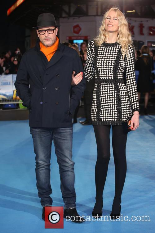 Matthew Vaughn and Claudia Schiffer 8