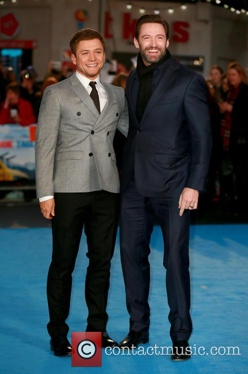 Taron Egerton and Hugh Jackman 4