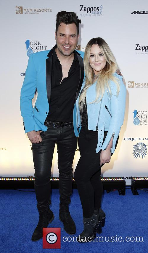 Frankie Moreno and Lacey Schwimmer 3