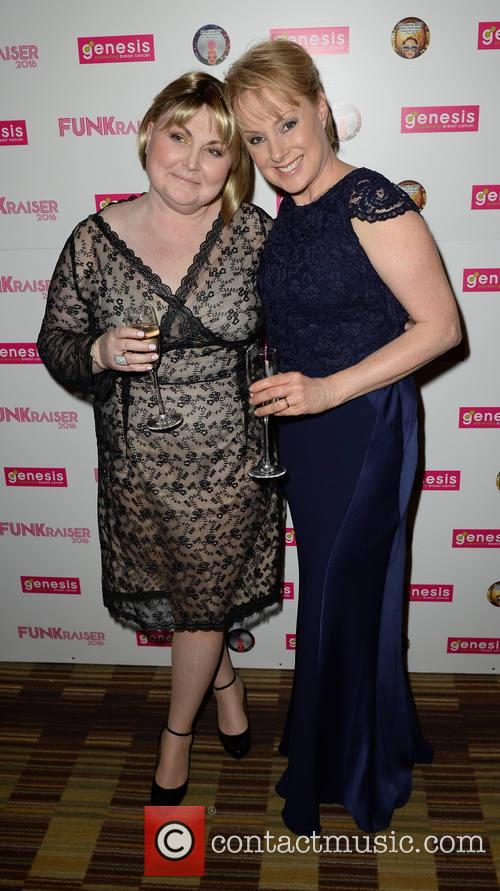 Morag Siller and Sally Dynevor 1
