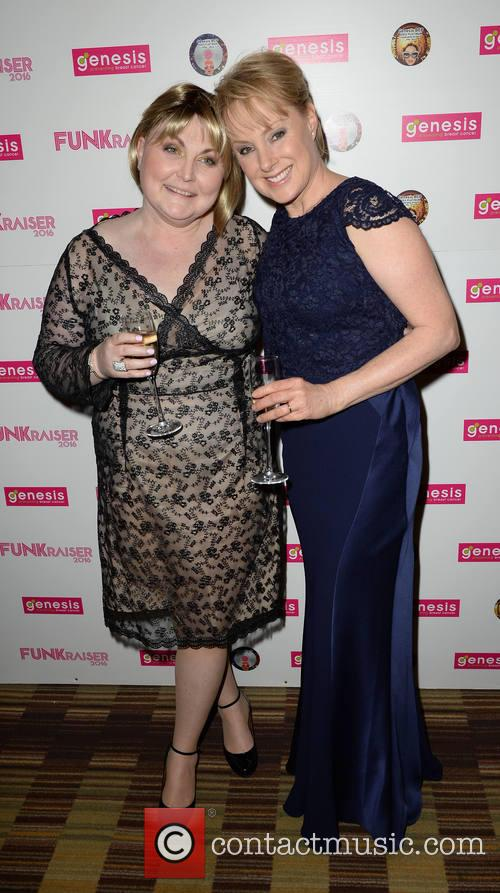 Morag Siller and Sally Dynevor 2