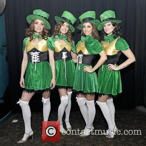BWitched celebrate St Partirck's Day performing a live...