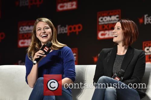 Melissa Benoist and Chyler Leigh 1