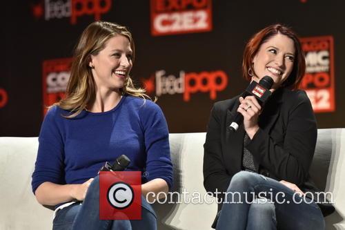 Melissa Benoist and Chyler Leigh 3