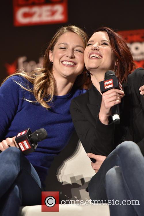 Melissa Benoist and Chyler Leigh 9