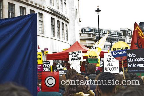 Demo Crowd and Supporters 1
