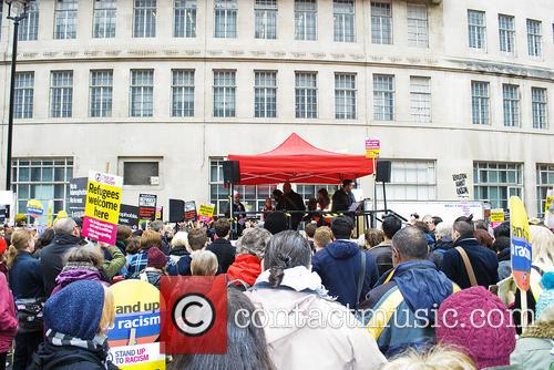 Demo Crowd and Supporters 5