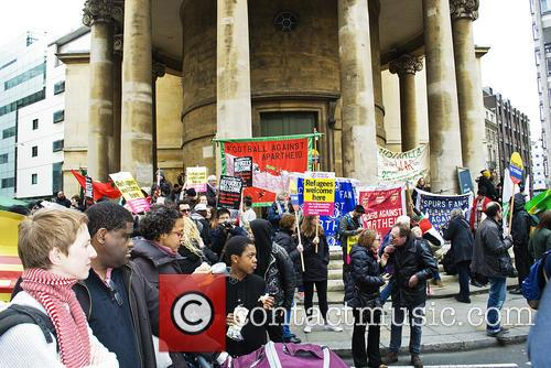 Demo Crowd and Supporters 8