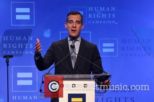 Los Angeles Mayor Eric Garcetti 1