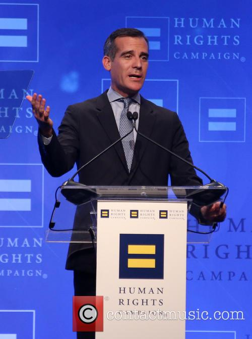 Los Angeles Mayor Eric Garcetti 2