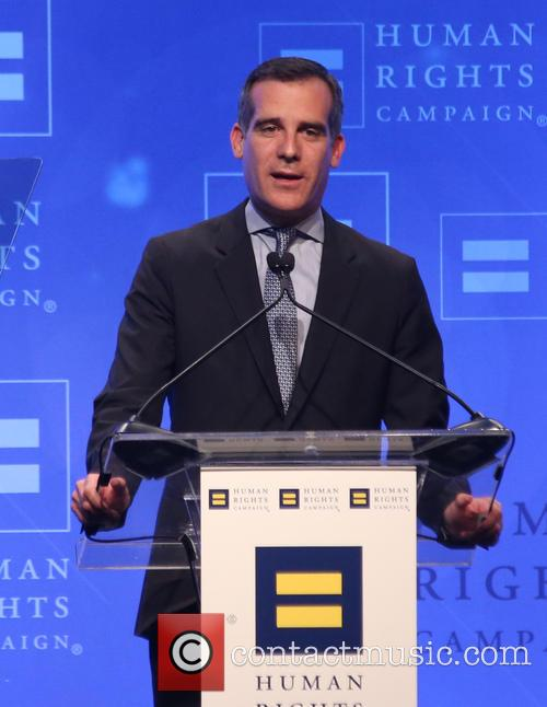 Los Angeles Mayor Eric Garcetti 3