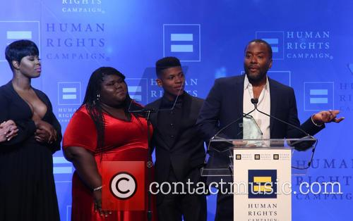 Ta'rhonda Jones, Gabourey Sidibe, Lee Daniels and Bryshere 'yazz' Gray 2