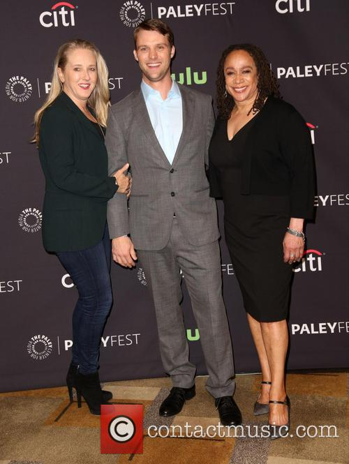 Jennifer Salke, Jesse Spencer and S. Epatha Merkerson 2