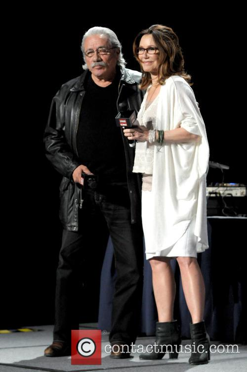 Edward James Olmos and Mary Mcdonnell 1