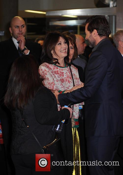 Iris Berben and Hugh Jackman 3