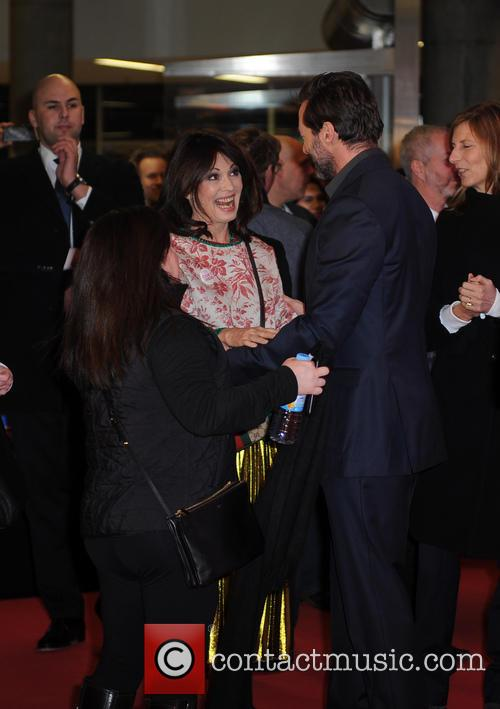 Iris Berben and Hugh Jackman 4