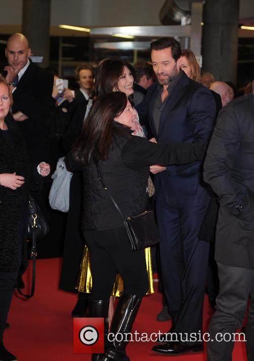 Iris Berben and Hugh Jackman 5