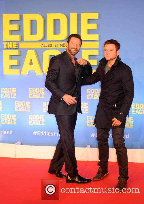 Hugh Jackman and Taron Egerton 5