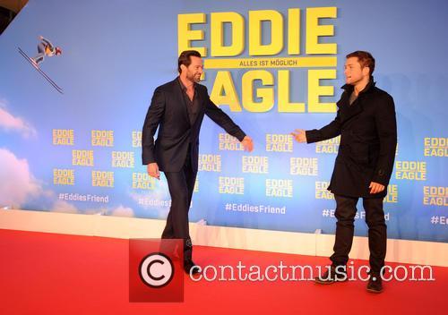 Hugh Jackman and Taron Egerton 7