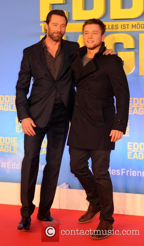 Hugh Jackman and Taron Egerton 10