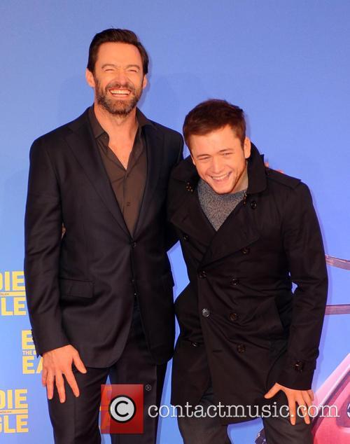 Hugh Jackman and Taron Egerton 11