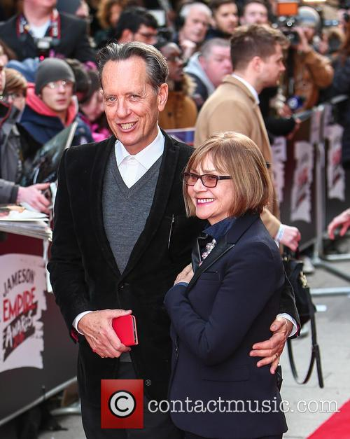 Richard E. Grant and Joan Washington 2