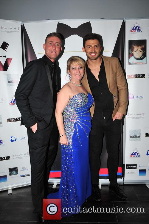 Chris Maloney, Jake Quickenden and Denise Fergus 2