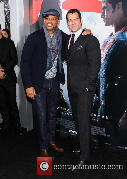 Will Smith and Henry Cavill 2