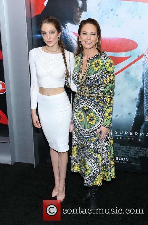 Eleanor Lambert and Diane Lane 2
