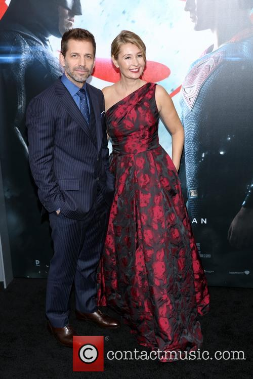 Zack Snyder and Deborah Snyder 1