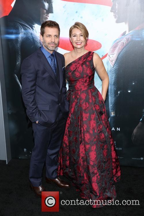 Zack Snyder and Deborah Snyder 2