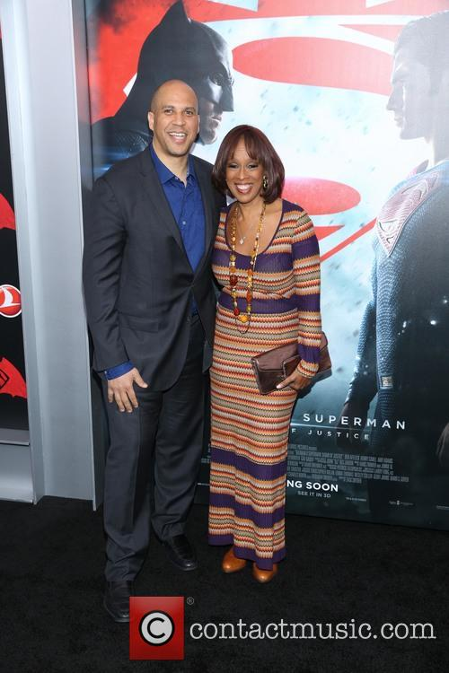 Cory Booker and Gayle King 2