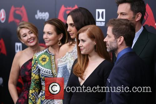 Deborah Snyder, Diane Lane, Gal Gadot, Amy Adams, Ben Affleck and Zack Snyder 2